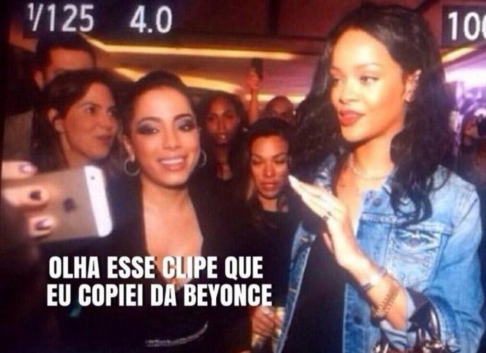 Anitta leva fora de Rihanna na Copa do Mundo