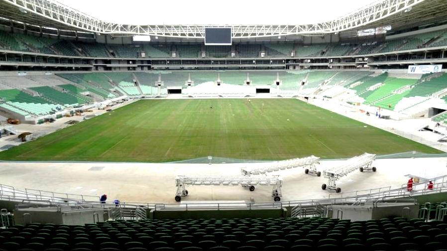 Arena do Palmeiras deve receber partidas do clube no fim deste ano