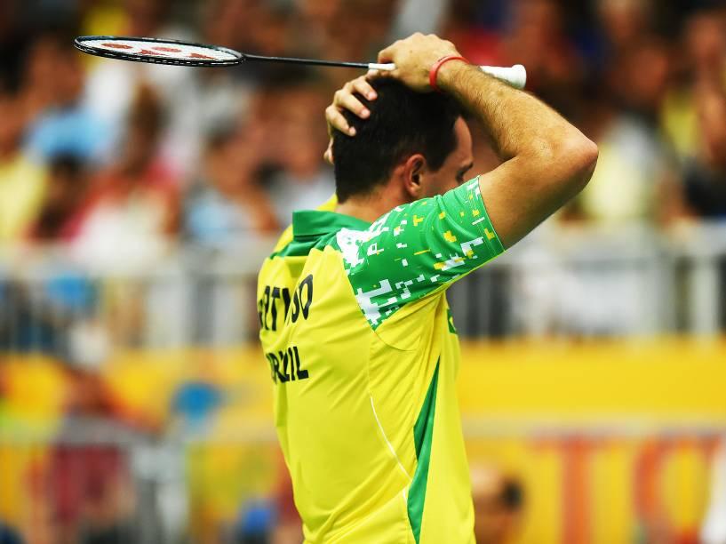 Daniel Paiola e Hugo Arthuso perdem a final, mas alcançam o feito de ser a primeira dupla brasileira a chegar até a final da disputa de Badminton em toda a história dos Jogos Pan-Americanos