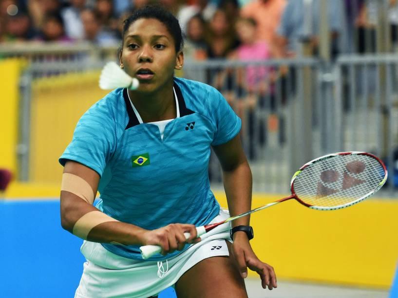 As irmãs brasileiras Lohaynny Vicente e Luana Vicente fizeram história na competição feminina ao disputar a medalha de ouro na competição de Badminton dos Jogos Pan-Americanos, em Toronto, Canadá