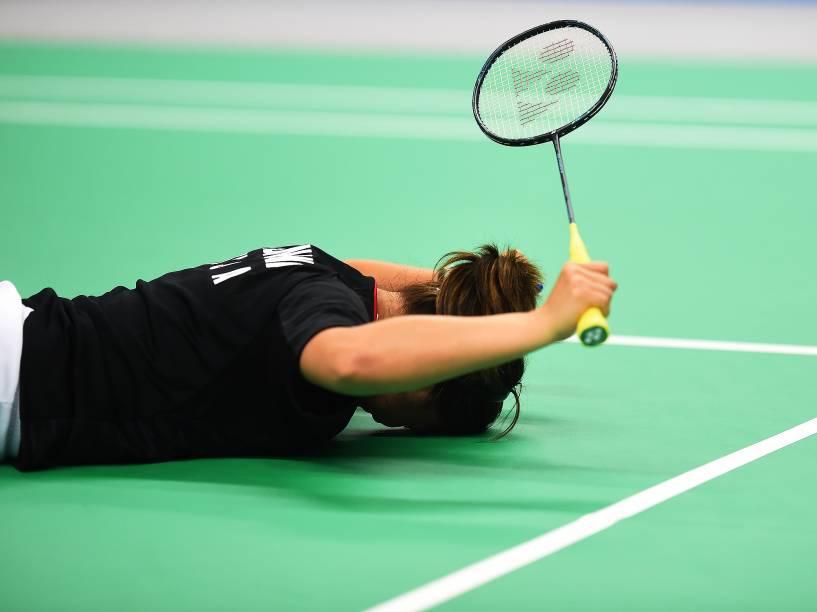 Final feminina de Badminton dos Jogos Pan-Americanos, em Toronto, Canadá