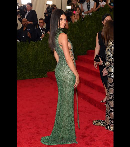 Kendall Jenner no Baile de Gala do Met em Nova York