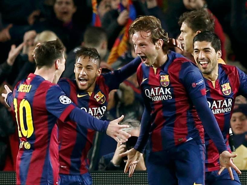 O Barcelona venceu nesta quarta-feira(18) o Manchester City (1-0), no Camp Nou