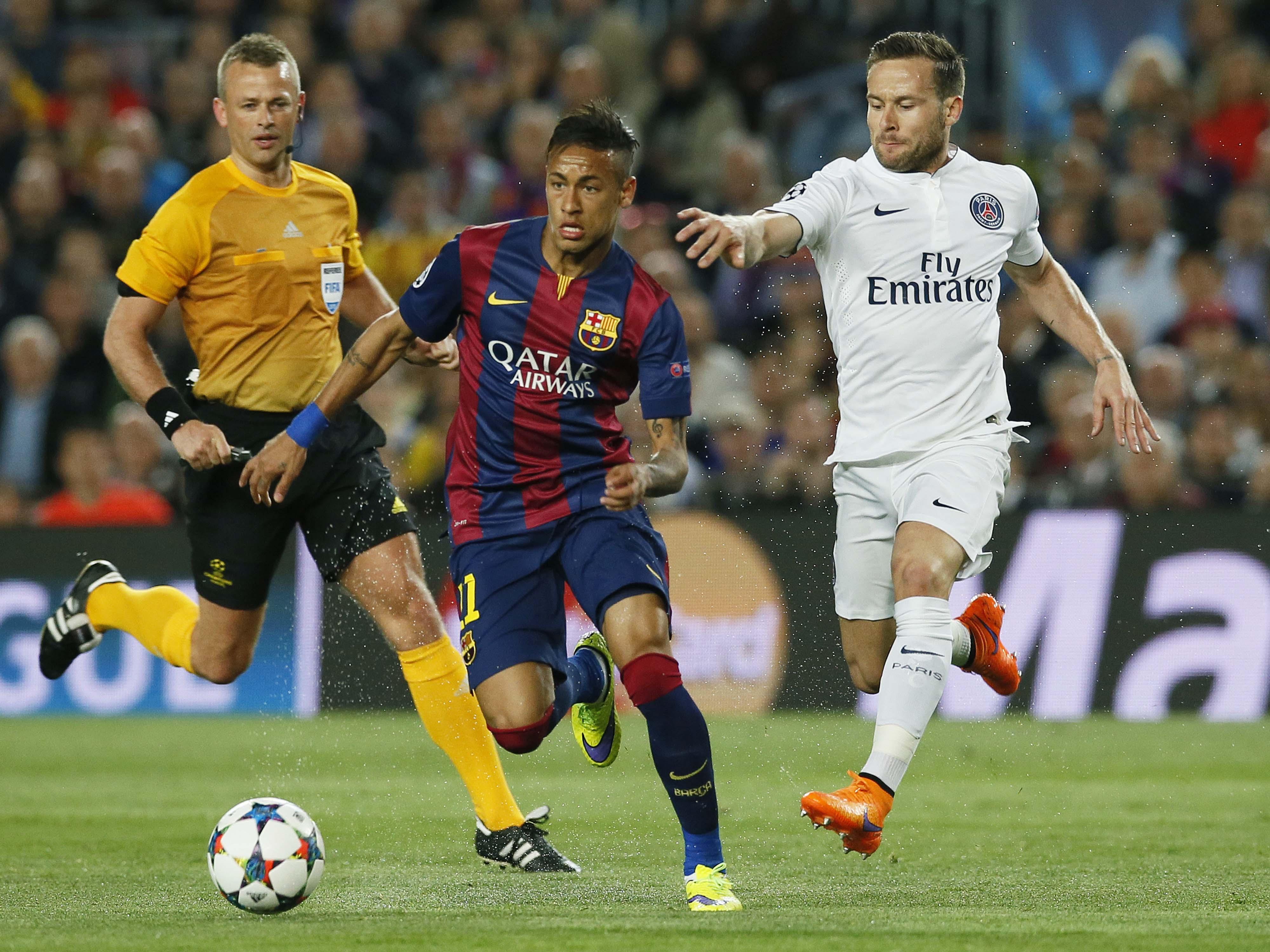 Liga Dos Campe U00f5es Barcelona 2 X 0 Paris Saint Germain VEJA