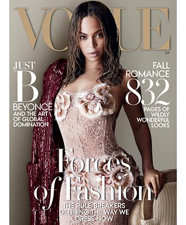 "Ensaio fotográfico de Beyoncé para ""Vogue"""