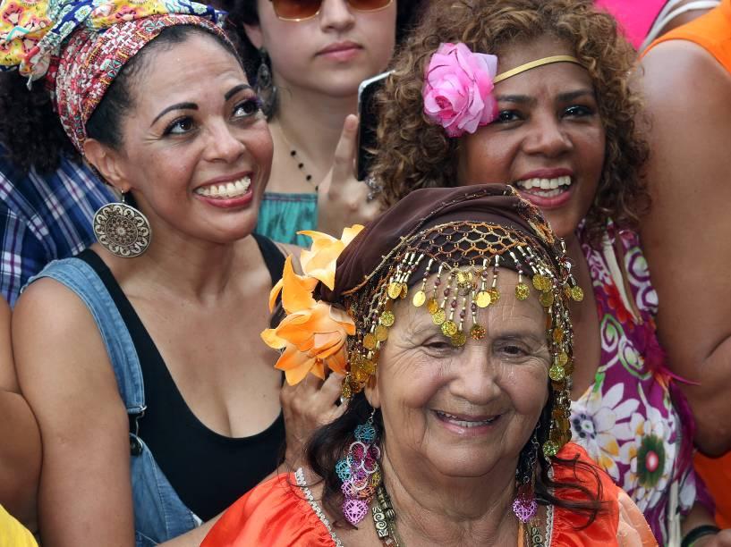 Bloco Blocon com Sidney Magal, em São Paulo