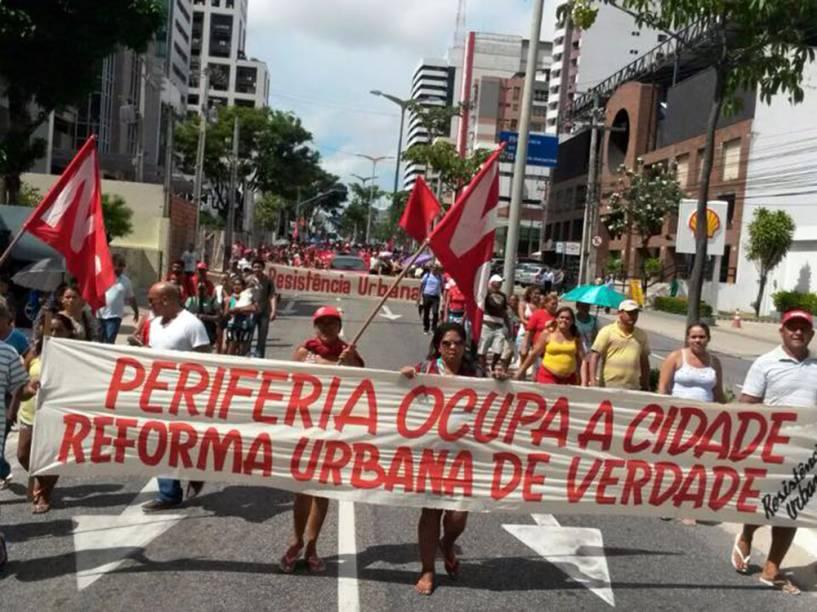 Manifestações no Ceará