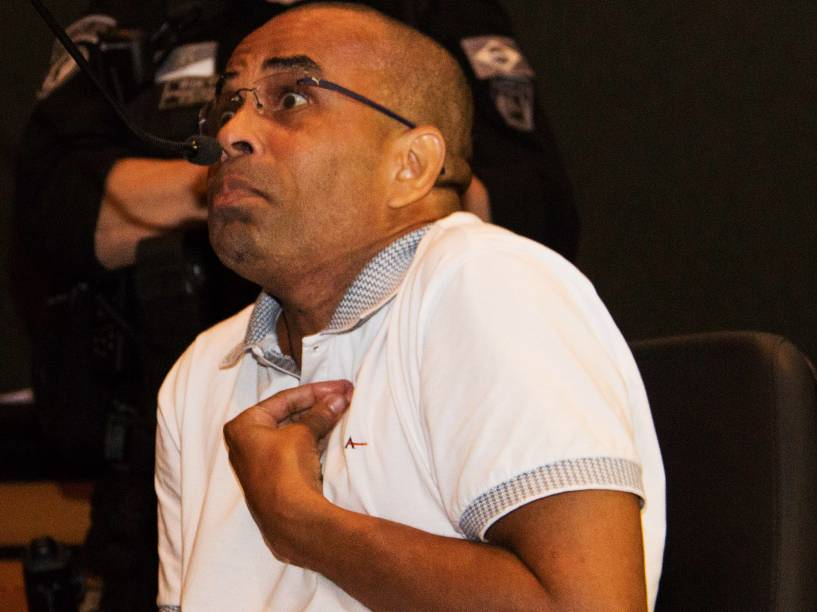 Julgamento do traficante Fernandinho Beira-Mar no Fórum do Rio de Janeiro - 13/05/2015