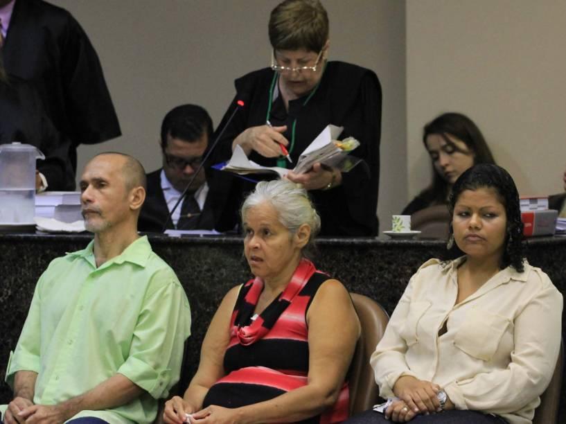 Julgamento na manhã desta quinta-feira (13), no Fórum de Olinda, do trio acusado de canibalismo: Jorge Beltrão Negromonte, Isabel Cristina Pires e Bruna Cristina da Silva