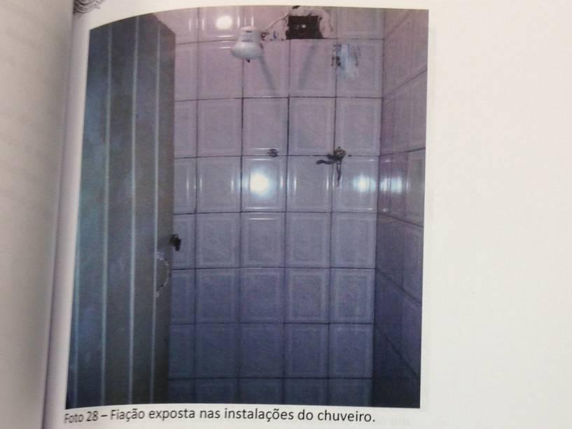 Banheiro do no Hotel Laid