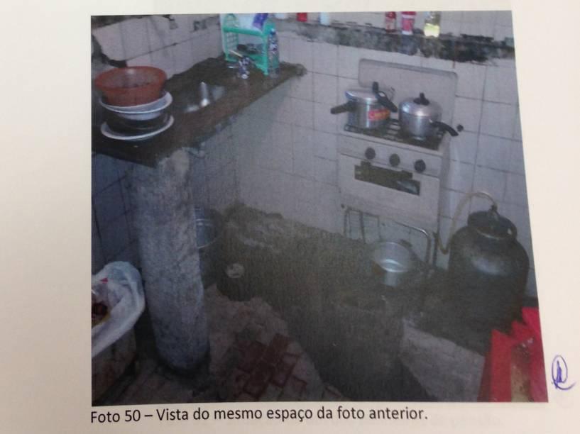 Cozinha da Pensão Azul