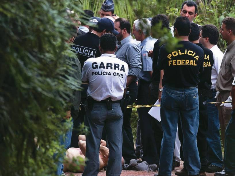 Local onde foi encontrado o corpo do ex-prefeito de Santo André Celso Daniel no município de Juquitiba, interior de São Paulo