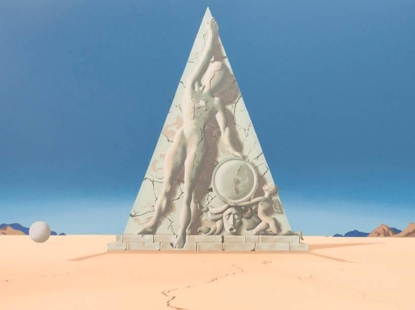 Gravura do pintor espanhol Salvador Dalí apreendida pela Polícia Federal na Operação Lava Jato