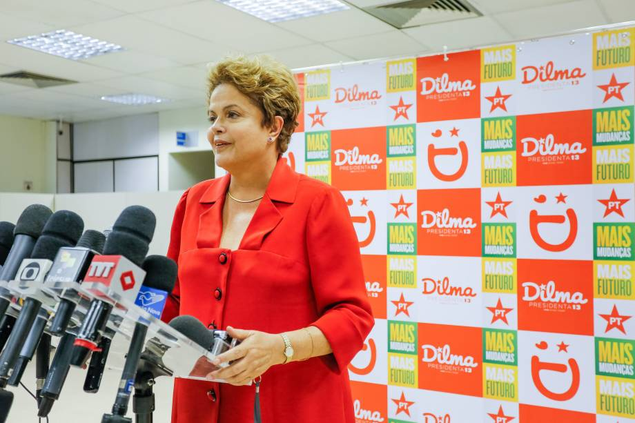 Dilma Rousseff durante encontro sobre Inclusão Digital em São Paulo - 09/09/2014
