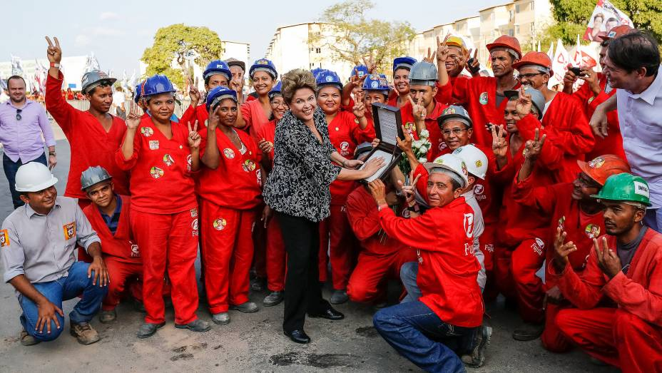 Dilma Rousseff visita o Residencial Cidade Jardim, construído pelo Minha Casa Minha Vida em Fortaleza (CE) - 04/09/2014