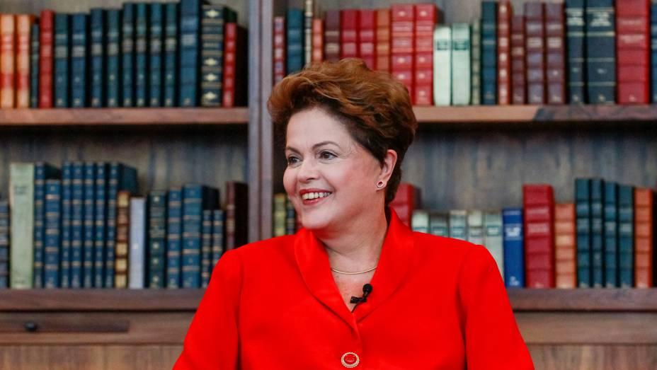 Dilma Rousseff participa da série de entrevistas do jornal O Globo em Brasília - 12/09/2014