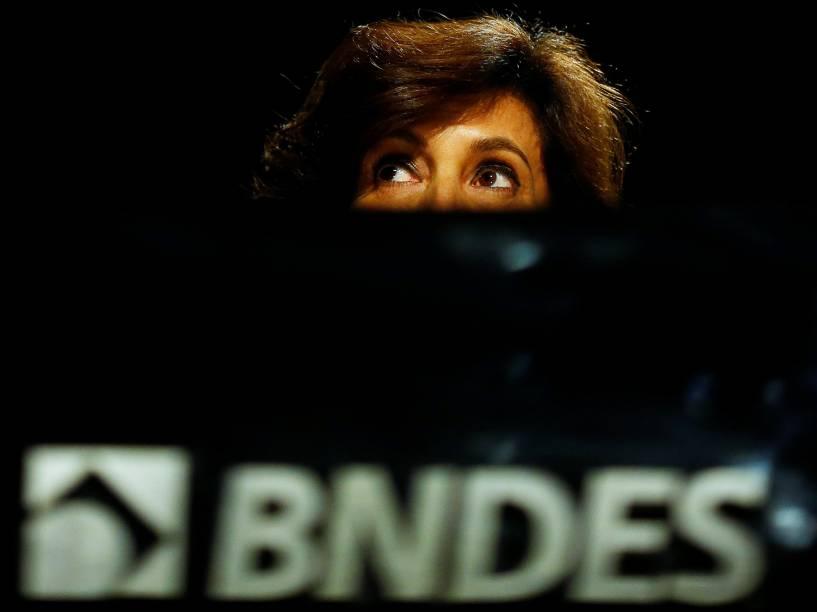A presidente do BNDES, Maria Silvia Bastos Marques - 01/06/2016