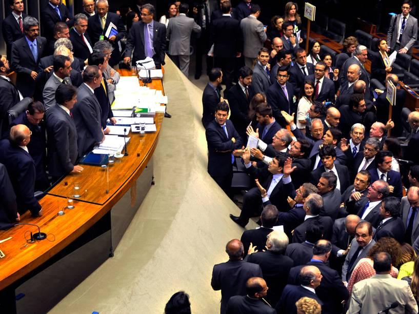 Bate boca durante sessão no Congresso Nacional desta terça (02)