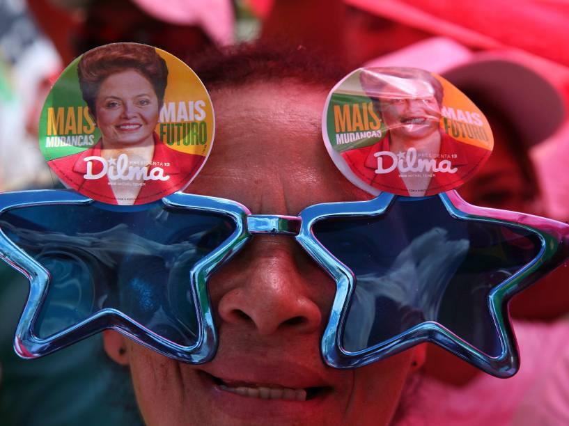Movimentação de militantes para a posse da presidente Dilma Rousseff em Brasília - 01/01/2015