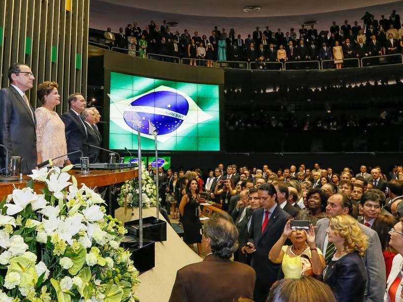 Cerimônia de posse do segundo mandato da Presidente da República Dilma Rousseff e do Vice-Presidente da República Michel Temer - 01/01/2015
