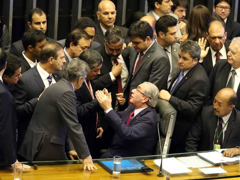 Sessão para votação dos integrantes da comissão especial destinada a dar parecer sobre o pedido de impeachment da presidente Dilma Rousseff