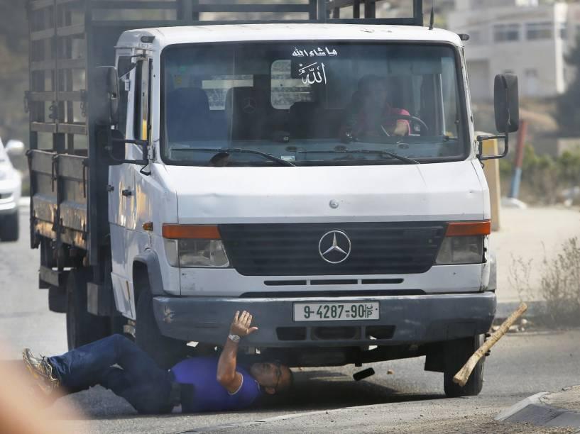 Israelense foi atropelado por um caminhão na cidade de Hebrom