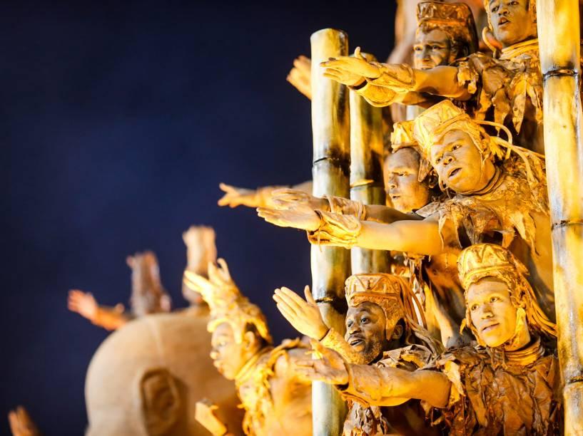 """Unidos da Tijuca leva para avenida o samba-enredo """"Semeando Sorriso, a Tijuca festeja o solo sagrado"""""""
