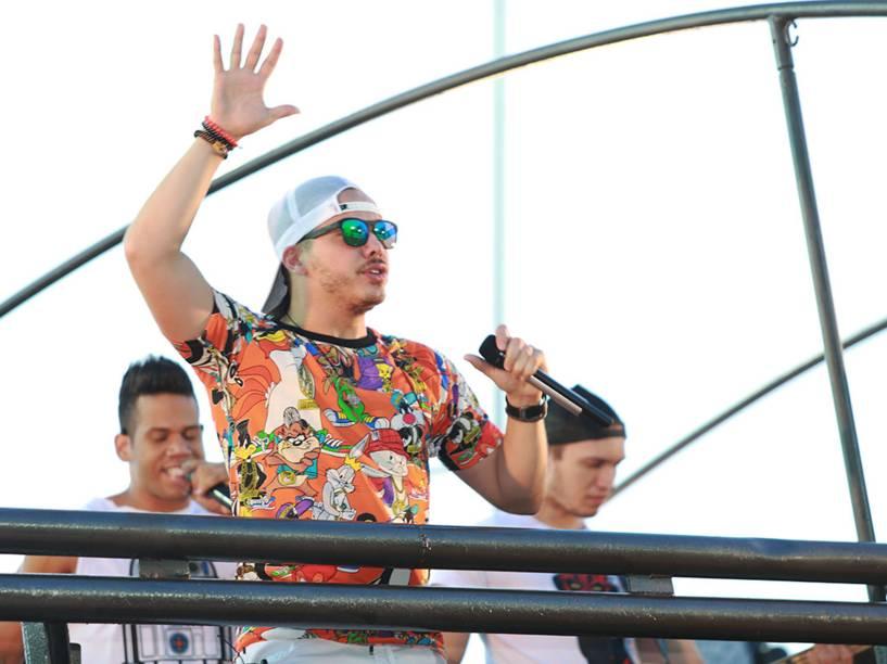 Wesley Safadão se apresenta no segundo dia do Carnaval no circuito Dodô (Barra-Ondina), em Salvador - 04/02/2016