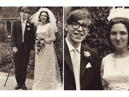 Casamento de Jane e Stephen Hawking em 1965