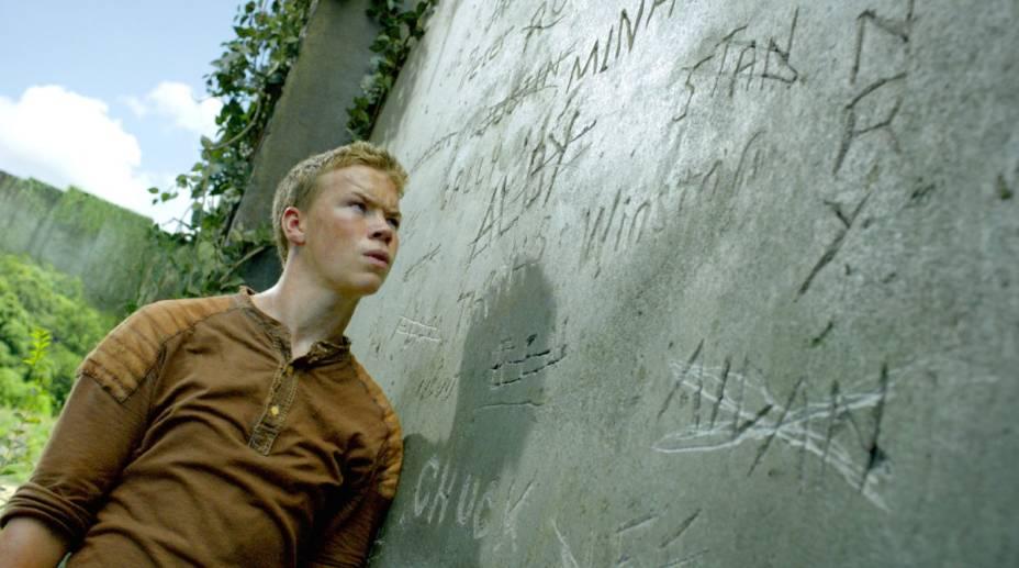 O personagem Still, interpretado pelo ator inglês Will Poulter, em cena do filme Maze Runner