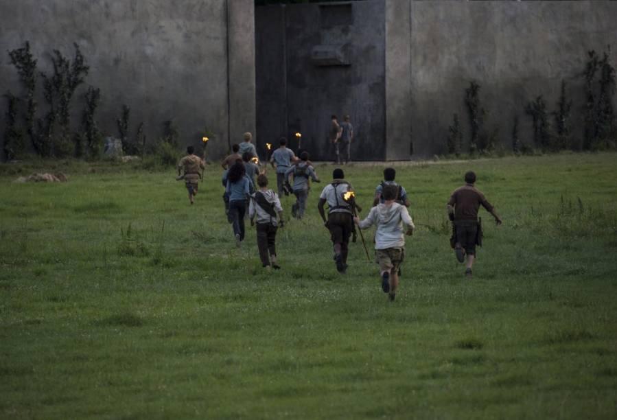 Cena do filme Maze Runner