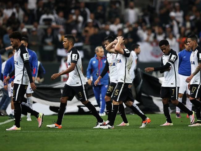 Partida entre Corinthians e Nacional (URU), pelas oitavas de final da Copa Libertadores 2016, na Arena Corinthians, zona leste da capital paulista - 04/05/2016