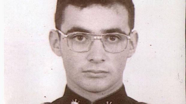 Coronel Telhada no início da carreira militar
