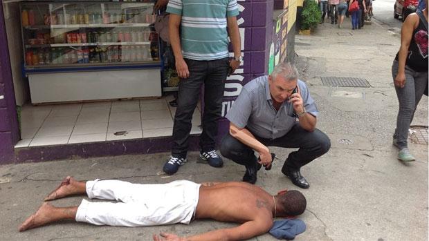 Coronel Telhada prende suspeito de assalto em São Paulo