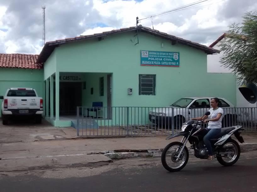 A delegacia de Castelo do Piauí