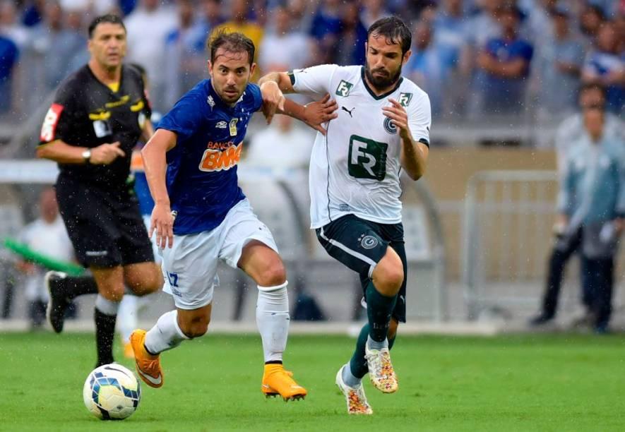 A festa do Cruzeiro, campeão brasileiro de 2014, no Mineirão
