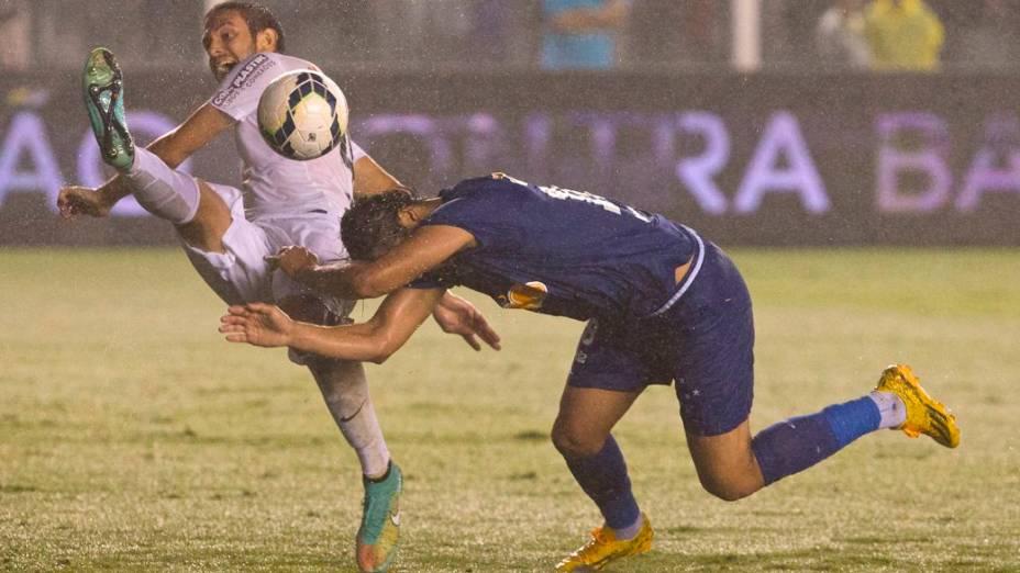 Santos x Cruzeiro, na Vila Belmiro, semifinal da Copa do Brasil 2014