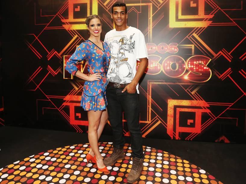 Marcello Melo Jr. e Raquel Guarini se preparam para a grande final da Dança dos Famosos 2014