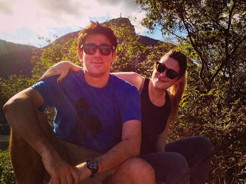 Dani Calabresa e Marcelo Adnet em postagem no Dia dos Namorados de 2013