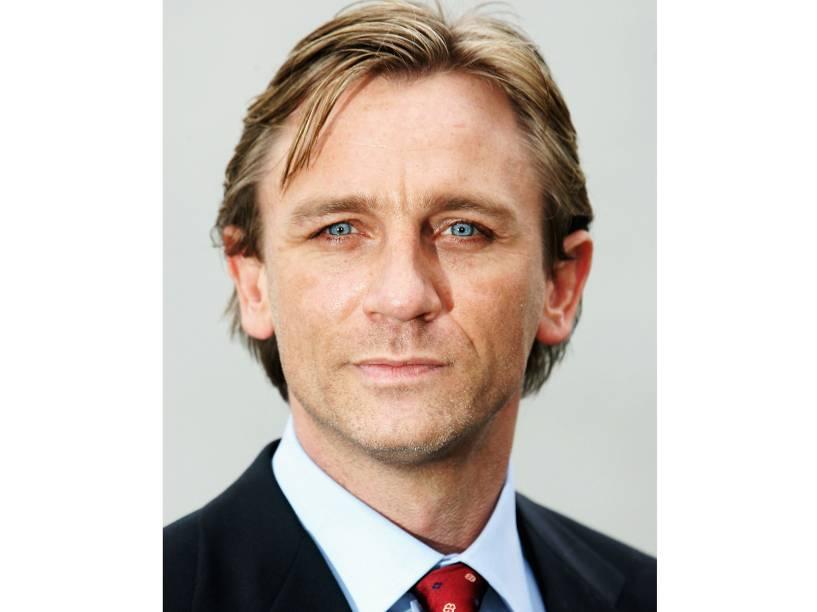 O ator Daniel Craig assumiu o posto do agente britânico James Bond no filme 007 - Cassino Royale, em 2005