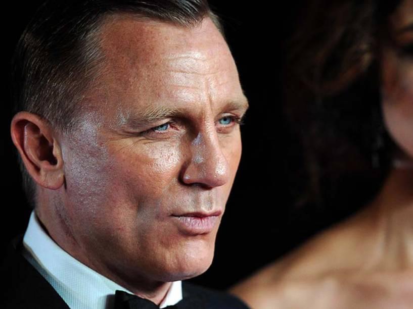 Daniel Craig no lançamento do filme 007 - Operação Skyfall, em 2012
