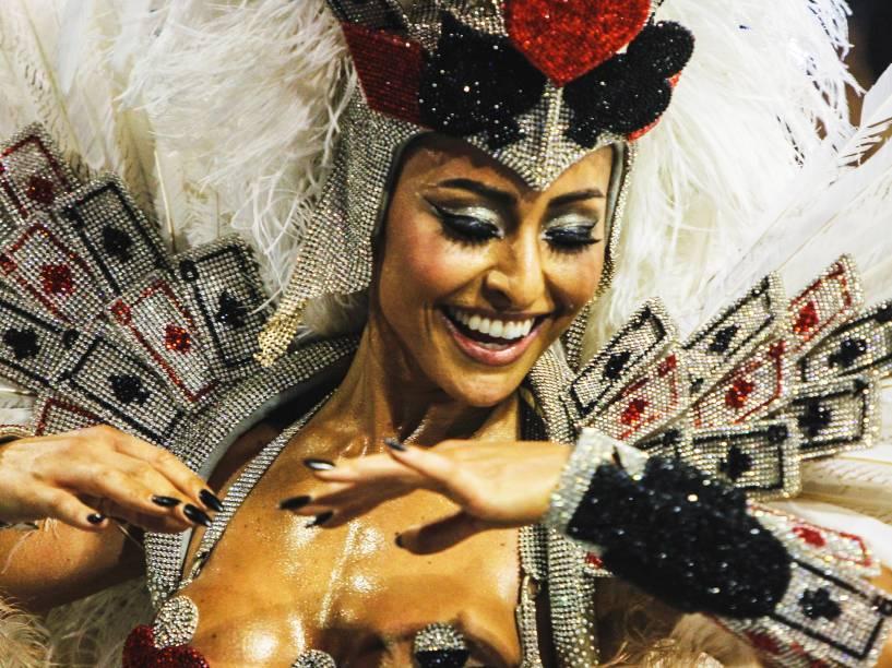 Sabrina Sato, Madrinha da bateria da Gaviões da Fiel