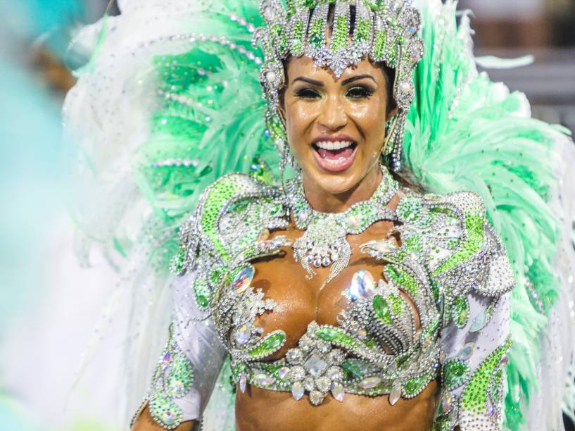 Gracyanne Barbosa, Rainha da bateria da X9-Paulistana