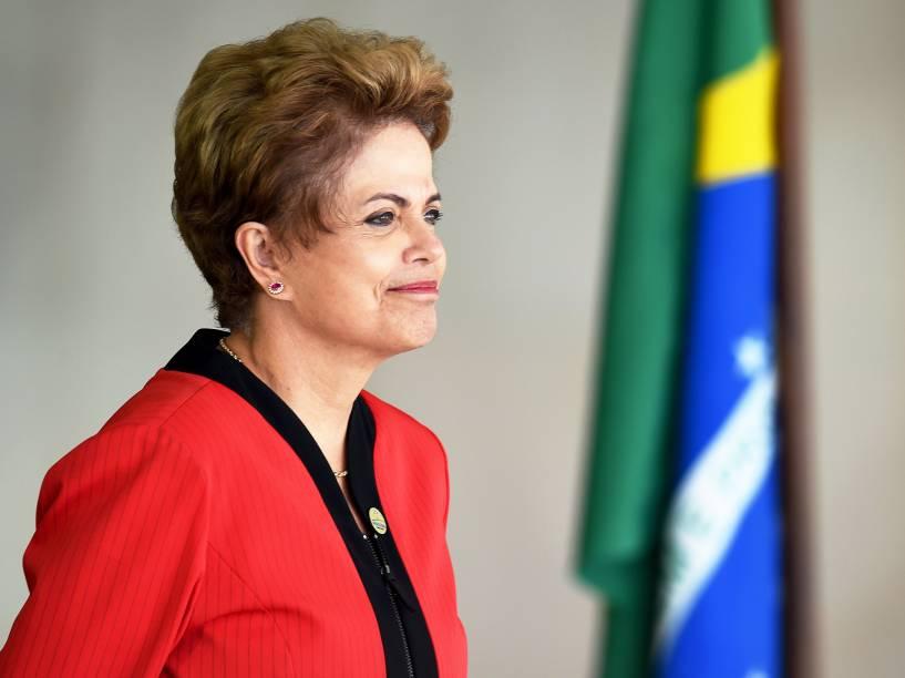 A presidente Dilma Rousseff recebeu os chefes de Estado dos países que integram o Mercosul no Palácio Itamaraty, em Brasília (DF)