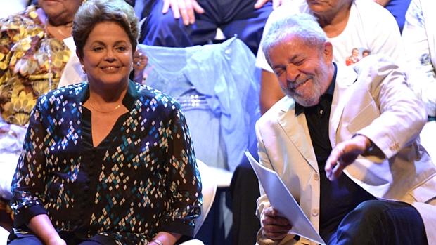 Criatura e criador: Lula voltou a assumir o papel de protagonista em um evento da campanha de Dilma