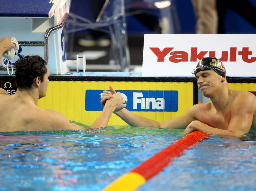 Cesar Cielo fica com o bronze no Mundial em Piscina Curta em Doha, no Quatar