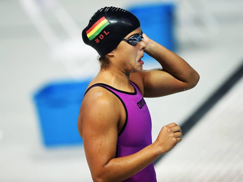 Atleta antes de competição em Toronto