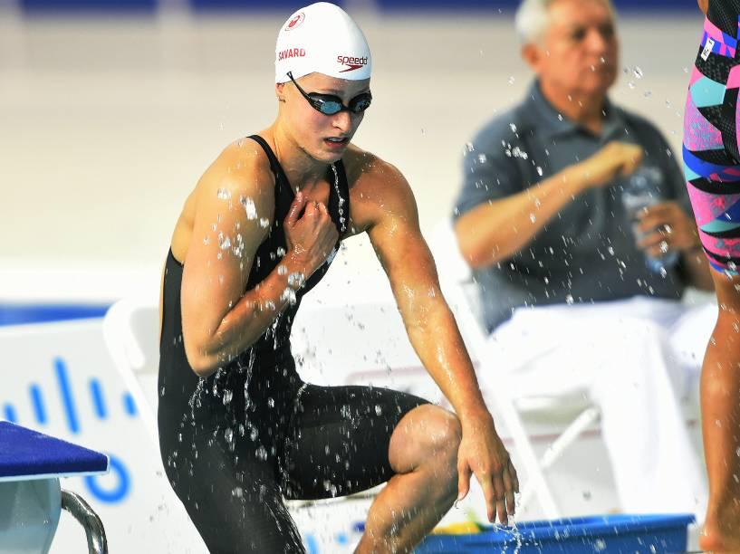 Competição de natação em Toronto