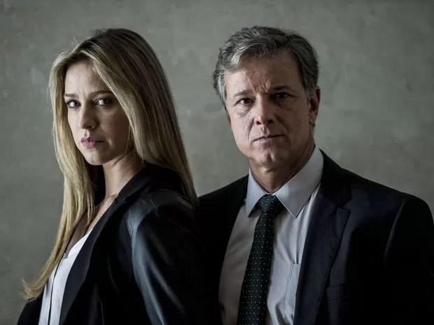 Luana Piovani e Marcello Novaes são os investigadores Dias e Vera em Dupla Identidade