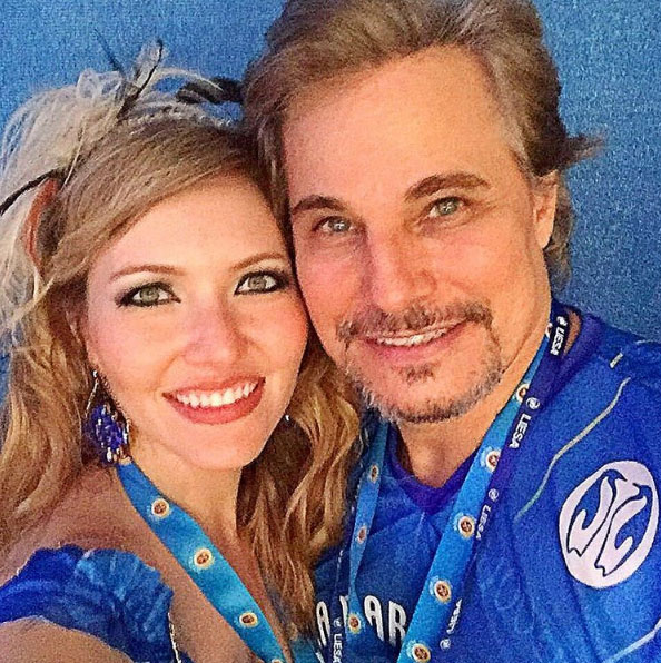 Edson Celulari e a namorada, a atriz Karin Roepke
